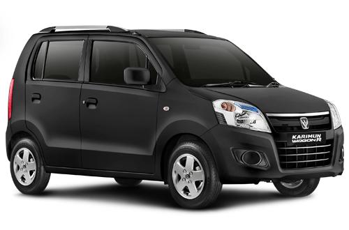 wagon r hitam