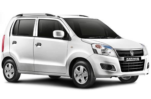 wagon r putih